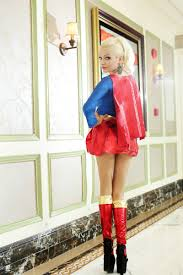 free shipping new fashion long sleeve superwoman womens costumes