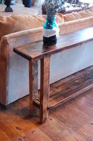 Barn Wood Sofa Table by Reclaimed Barnwood Furniture Teton Sofa Table
