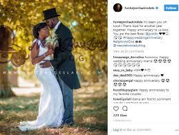 227 Happy Wedding Anniversary To Funke Akindele U0026 Jjc Celebrate 1st Wedding Anniversary Today
