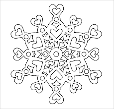 templates for snowflakes snowflake templates 49 free word pdf jpeg png format download