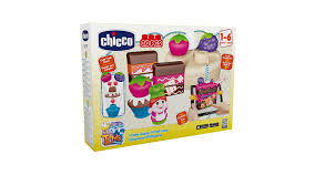 amazon com chicco construction game cake design 30 pieces health