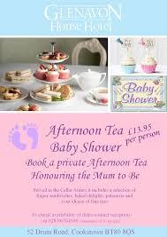 afternoon tea baby shower glenavon house hotel