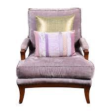 Velvet Accent Chair 87 Purple Velvet Accent Arm Chair Chairs