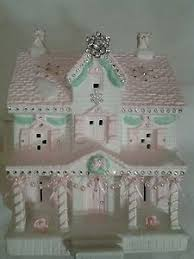138 best glitter houses other holidays images on putz