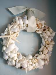 my romantic home how to make a seashell wreath decorative