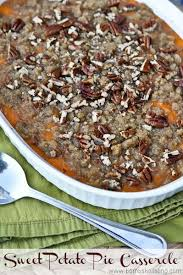 this sweet potato pie casserole for thanksgiving dinner is amazing