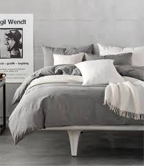 bedroom mesmerizing gray duvet cover for stylish bedroom ideas