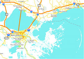 New Orleans Levee Map by Hurricane Katrina An Environmental Perspective Philosophical