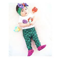 Infant Mermaid Halloween Costume Cheap Baby Mermaid Aliexpress Alibaba Group
