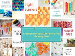 Diy Photo Backdrop Top 22 Extremely Creative Diy Photo Booth Backdrop Ideas