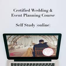 self wedding planner certified wedding event planner self study program