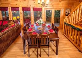 Be Our Guest Dining Rooms Pigeon Forge Cabin Be Our Guest