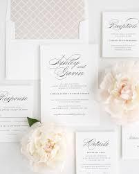 wedding invitations rochester ny timeless script wedding invitations wedding invitations by shine