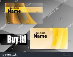 vector abstract creative business card modern stock vector
