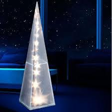 led dekoleuchte pyramide dekolampe wohnzimmer stehlampe lampe
