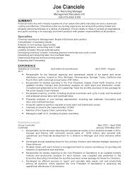 controller resume example finance controller resume template 9