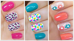10 pretty summer acrylic nail art designs 2016 katty nails
