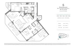 four seasons hotel private residences fort lauderdale new four seasons hotel private residences floorplan 8