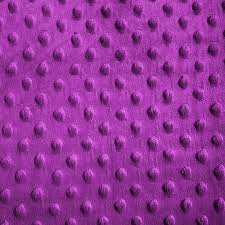 magenta minky dimple dot fabric sold by the yard