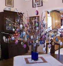 german easter egg tree tradition of the easter egg taste of europe