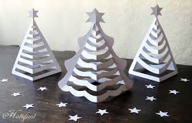 Decorate Christmas Tree Paper by Hattifant U0027s 3d Paper Christmas Trees Hattifant