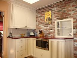Brick Backsplash In Kitchen Pleasing 50 Exposed Brick Wall Kitchen Ideas Decorating