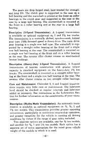 1956 chevrolet trucks operators manual