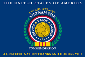 Viet Nam Flag Vietnam War Commemoration Committee Honors Kettles Fellow Vets
