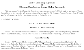 doc 400518 partnership contract template u2013 partnership agreement