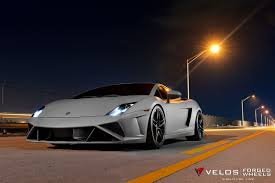 wrapped lamborghini velos designwerks creates a gallardo street fighter