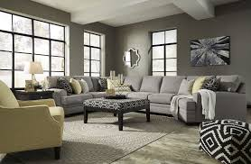cresson pewter raf large cuddler sectional from ashley coleman