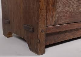 Stickley Bookcase Igavel Auctions Gustav Stickley Single Door Sixteen Pane Oak