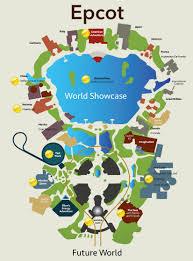 Epcot World Showcase Map My Site Epcot