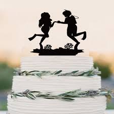 wedding cake toppers and groom scuba diving cake topper event cake topper diving and