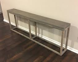 Narrow Console Table Console Table Etsy