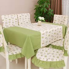 dining table chair covers modern pastoral printed dining table cloth rectangle dining table