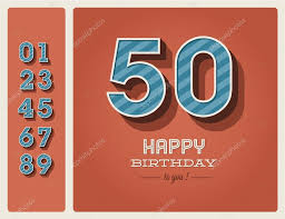 birthday card editable u2014 stock vector thecorner 16864553