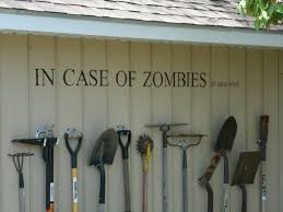 storing garden tools with style aka zombiewall gardening tools
