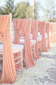 Wedding Chair Sash Dusky Pink Ruffle Chair Sash Unique Wedding Décor U2026 Pinteres U2026