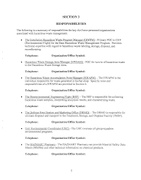 49 cfr hazardous materials table hazardous waste accumulation point manager training companion guide