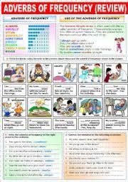 english teaching worksheets adverbs of frequency