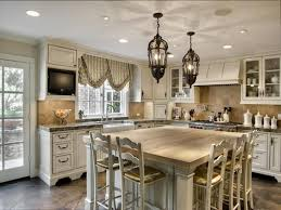 french country kitchen lighting idea for classy look french