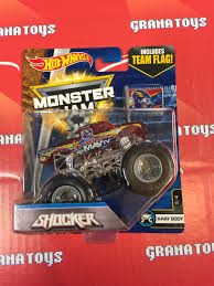 shocker 2 4 x ray body 2017 wheels monster jam case e grana toys