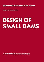 federal bureau of reclamation design of small dams