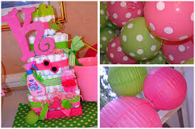 baby shower themes girl preppy baby shower pizzazzerie
