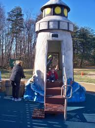 lighthouse at chessie u0027s backyard playground u003e u003e the joy troupe nova