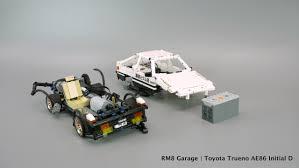lego toyota rc lego toyota trueno ae86 initial d with sbrick