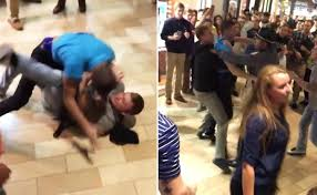 the worst black friday brawls warning graphic content ny daily news