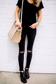 Black Skinny Jeans With Holes Click Here To See Best Ripped Black Skinny Jeans Under 100 Http