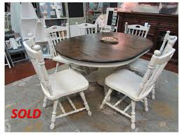 Oak Dining Room Tables And Chairs by Refinished Solid Oak Pedestal Table With Matching Chairs Just